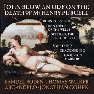 "John Blow ""An Ode on the Death of Henry Purcell"""